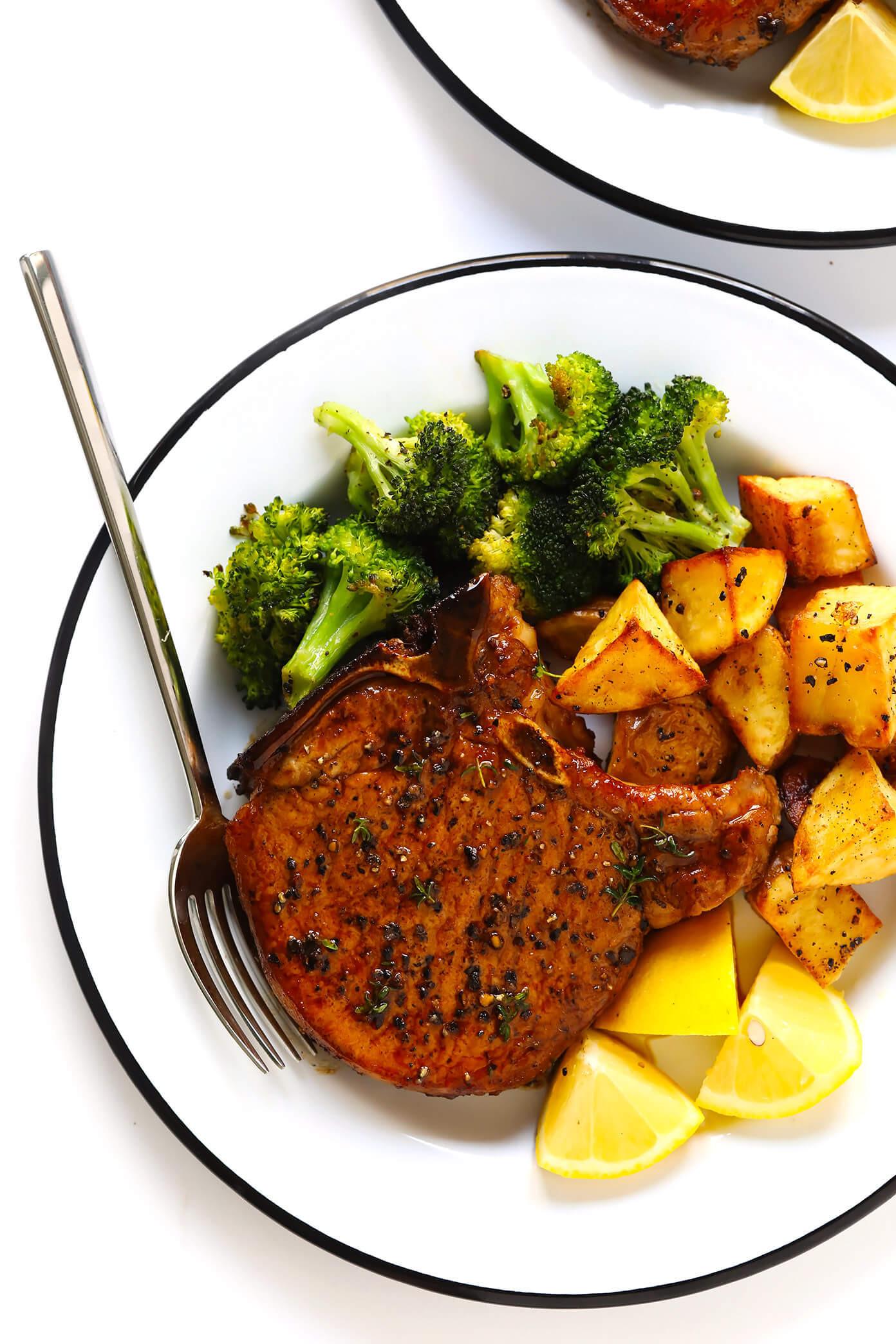 Pork Chop Side Dishes Recipes  Baked Pork Chops