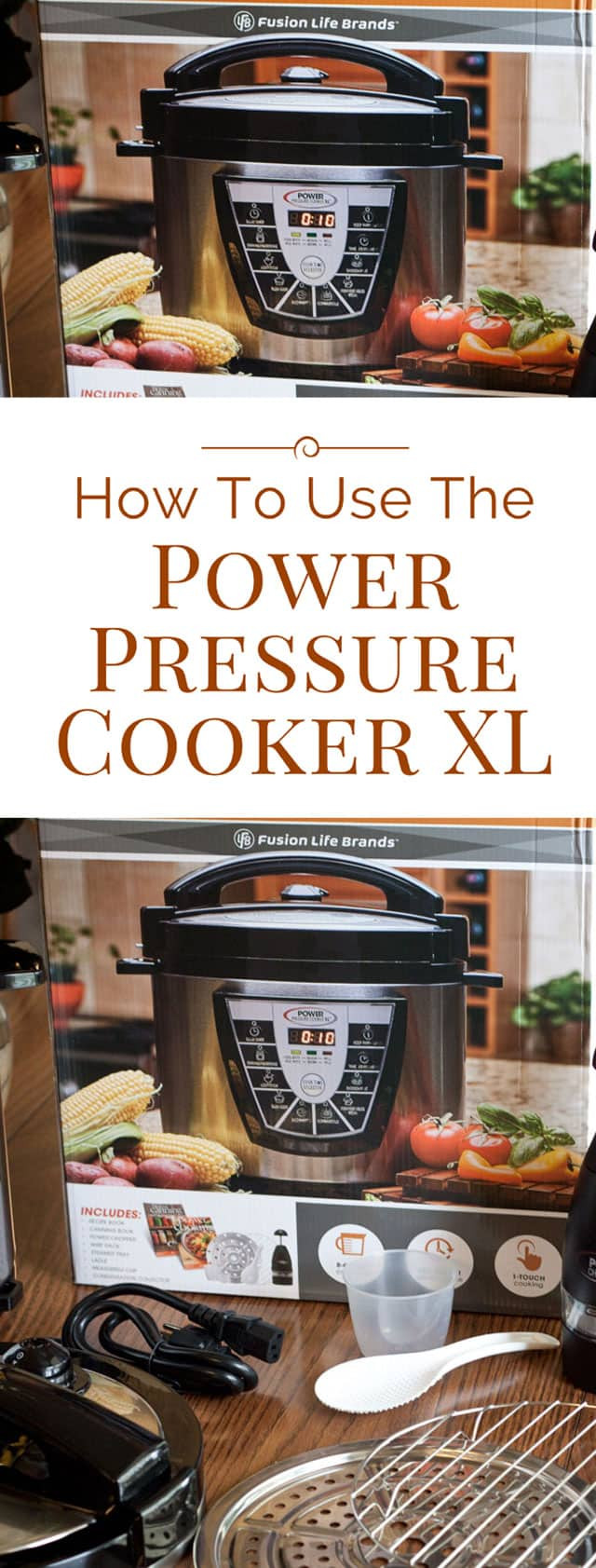 Power Pressure Cooker Xl Fish Recipes  How to Use the Power Pressure Cooker XL Pressure Cooking