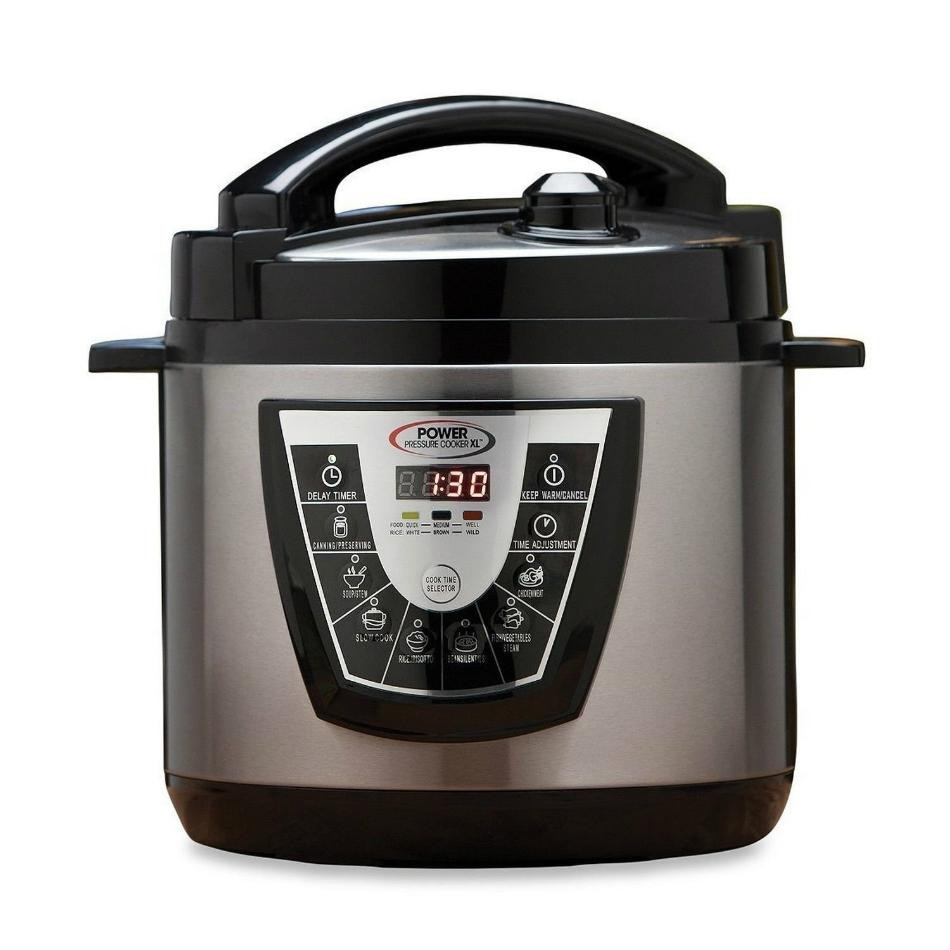 Power Pressure Cooker Xl Fish Recipes  Power Pressure Cooker XL PPC Electric 1 Touch Cooking As