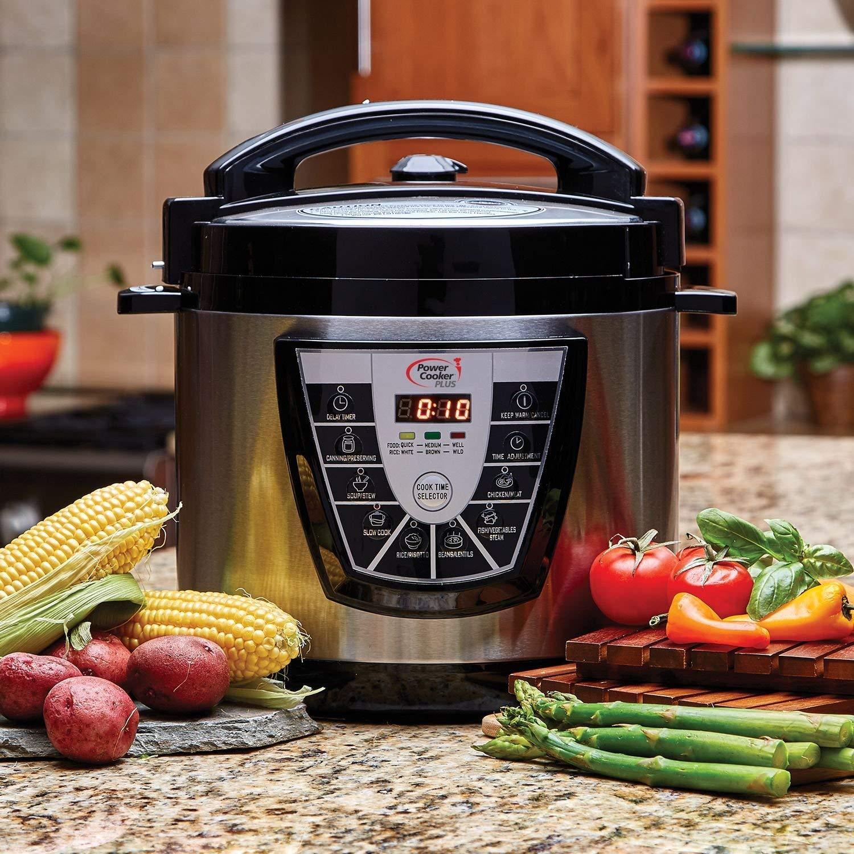 Power Pressure Cooker Xl Fish Recipes  Tristar PPC 6 Quart Power Pressure Cooker