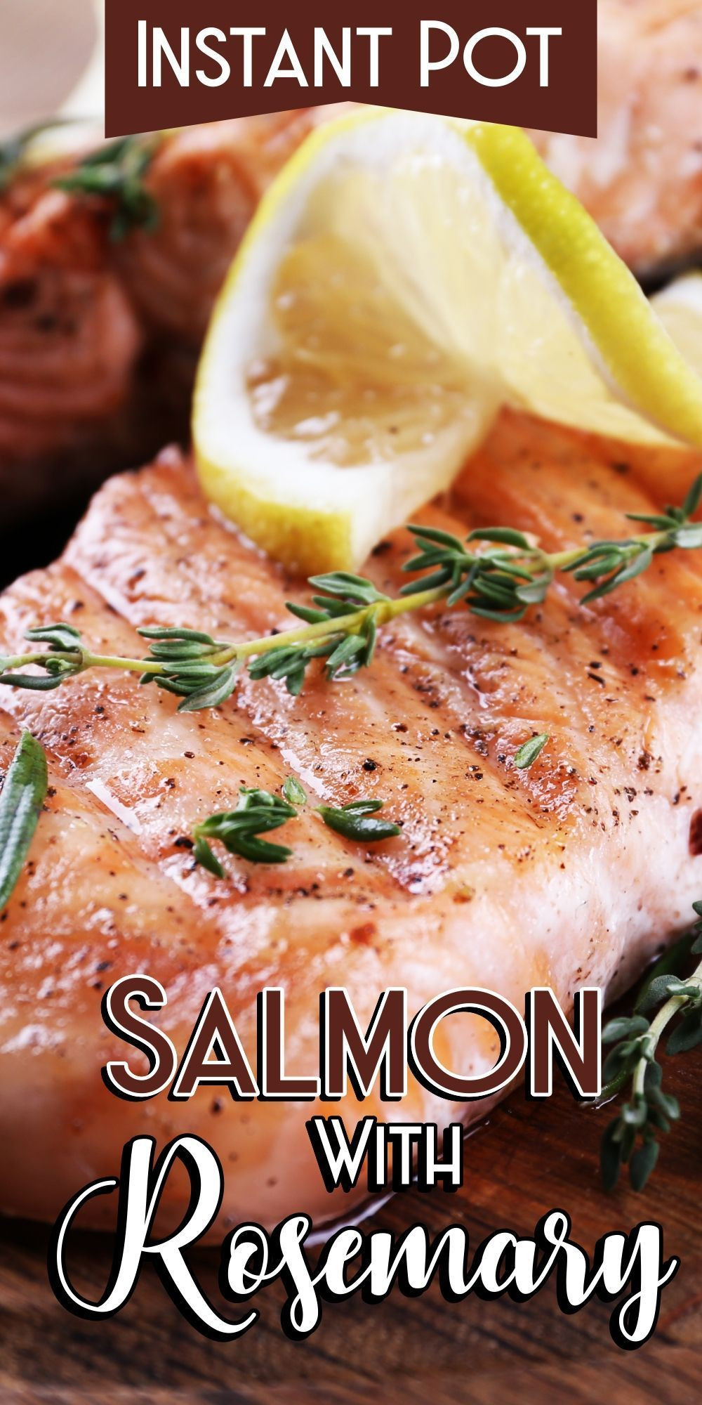 Power Pressure Cooker Xl Fish Recipes  Instant Pot Salmon With Rosemary