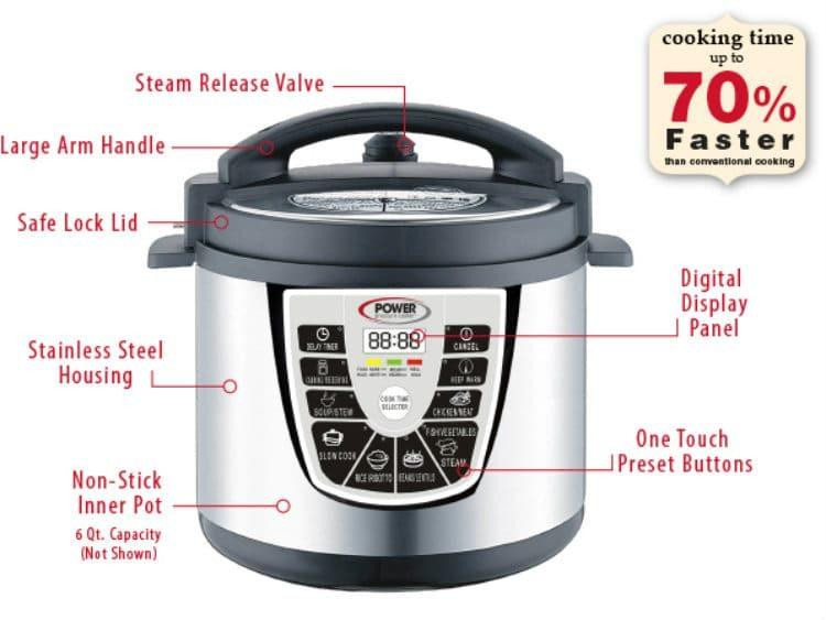 Power Pressure Cooker Xl Fish Recipes  Oh The Savory Benefits For The Power Pressure Cooker XL