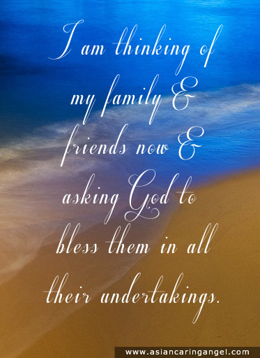 Prayer Quotes For Family And Friends  Quotes and Poems – Family & Friendship 2