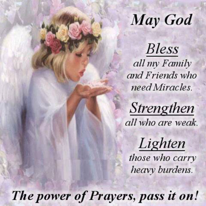 Prayer Quotes For Family And Friends  May God Bless My Family And Friends s and