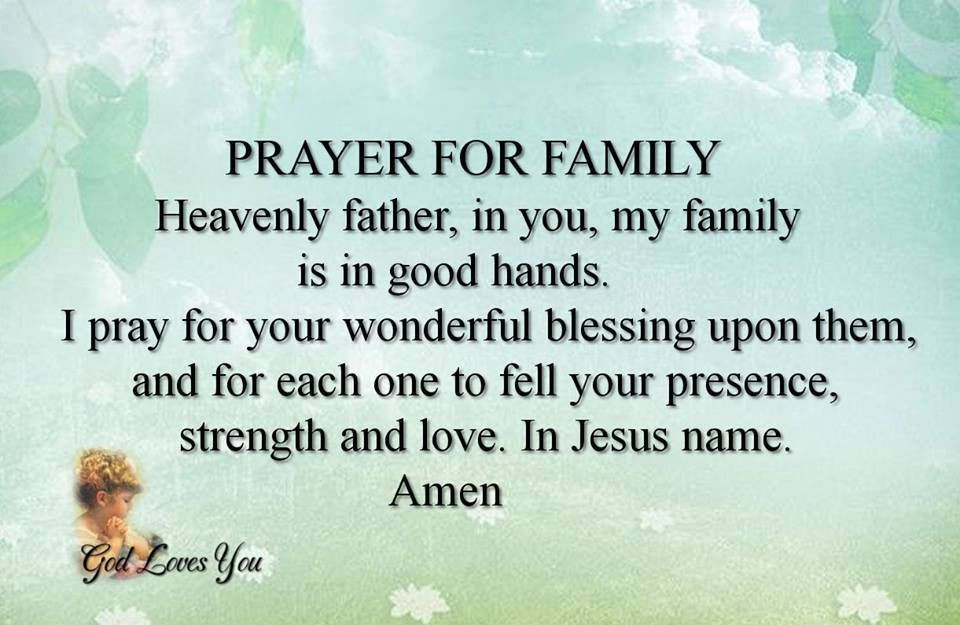 Prayer Quotes For Family And Friends  Prayer For Family s and for
