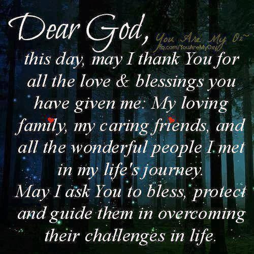 Prayer Quotes For Family And Friends  Thank You God For My Family Quotes QuotesGram