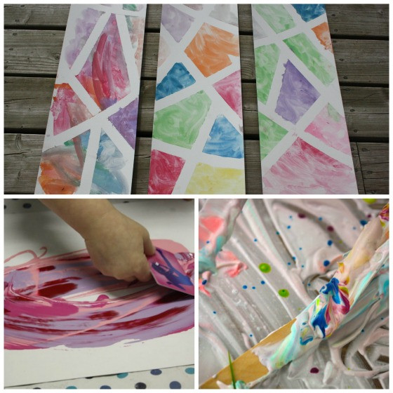 Preschool Art Project  25 Awesome Art Projects for Toddlers and Preschoolers