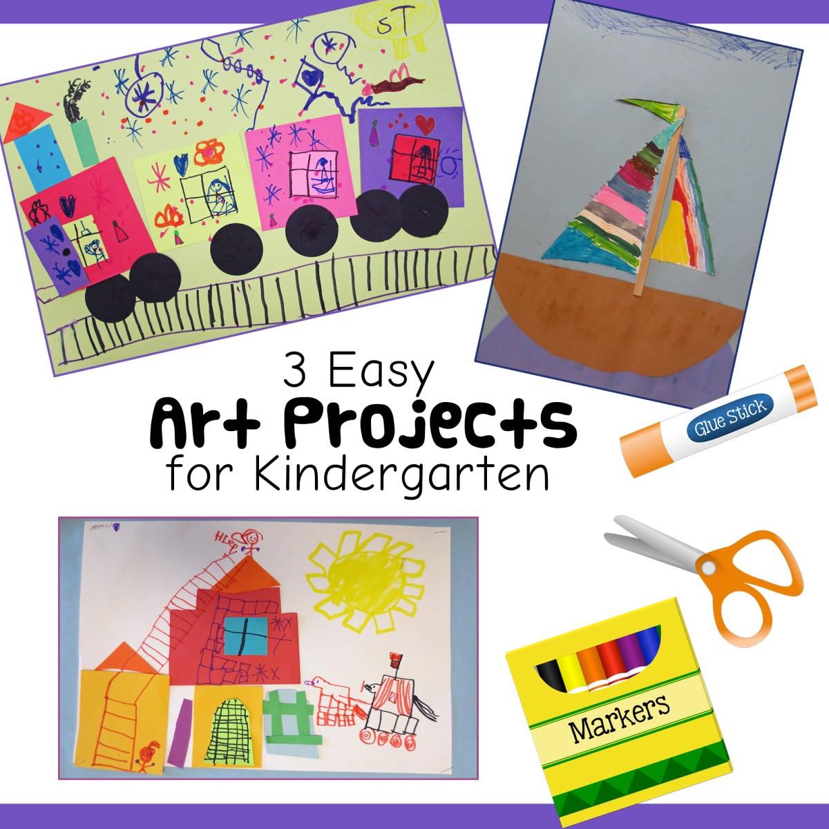 Preschool Art Project  3 Fun and Easy Kindergarten Art Lessons – Art is Basic
