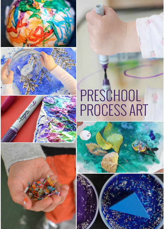 Preschool Art Project  11 Process Art Projects for Preschoolers