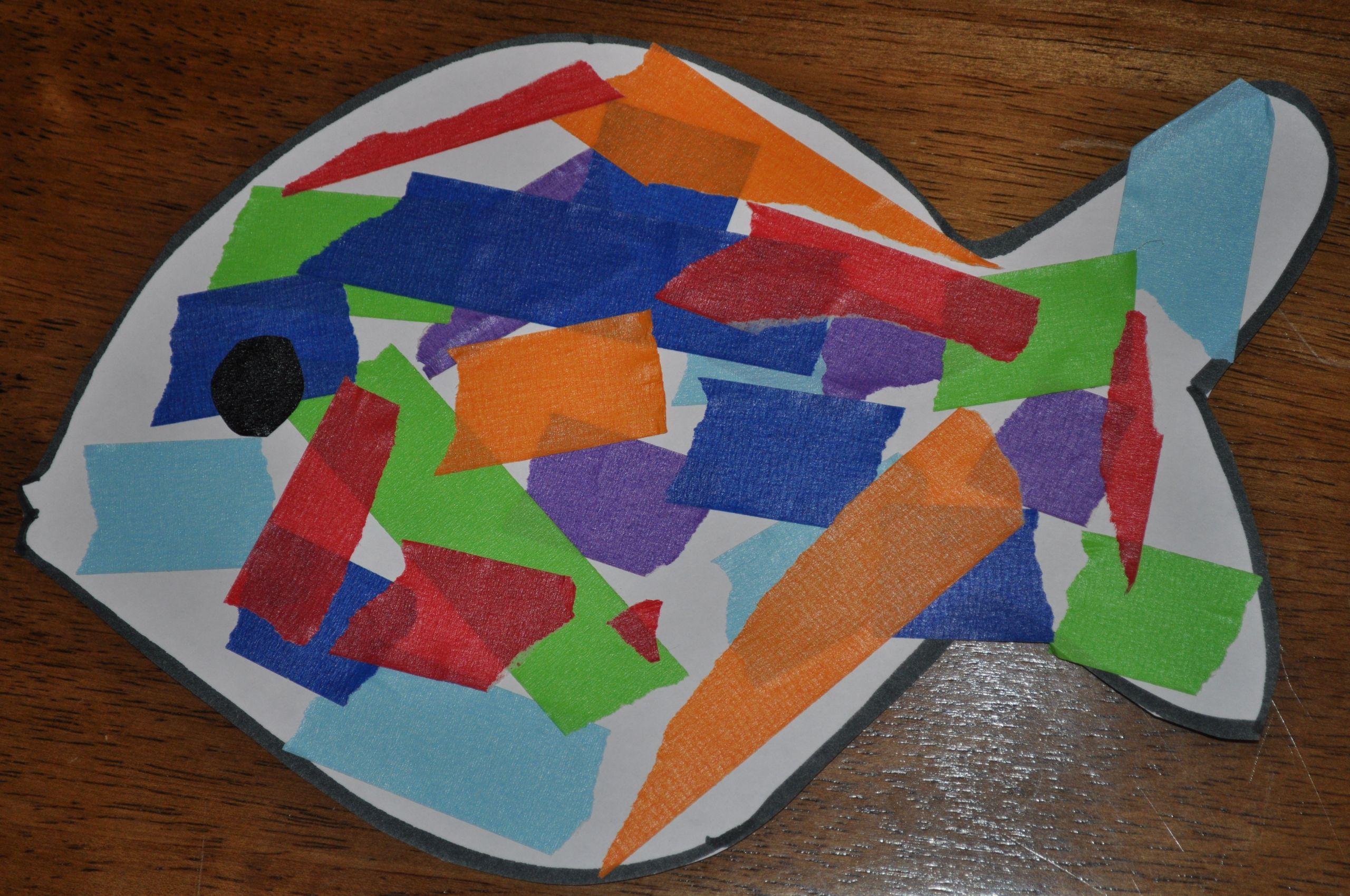 Preschool Art Project  Fun in Preschool with Ocean Theme Activities