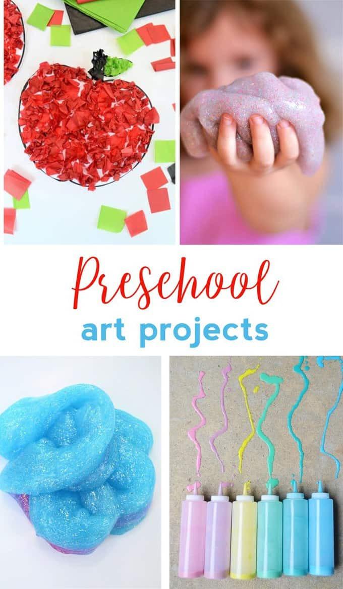 Preschool Art Project  PRESCHOOL ART PROJECTS EASY CRAFT IDEAS FOR KIDS