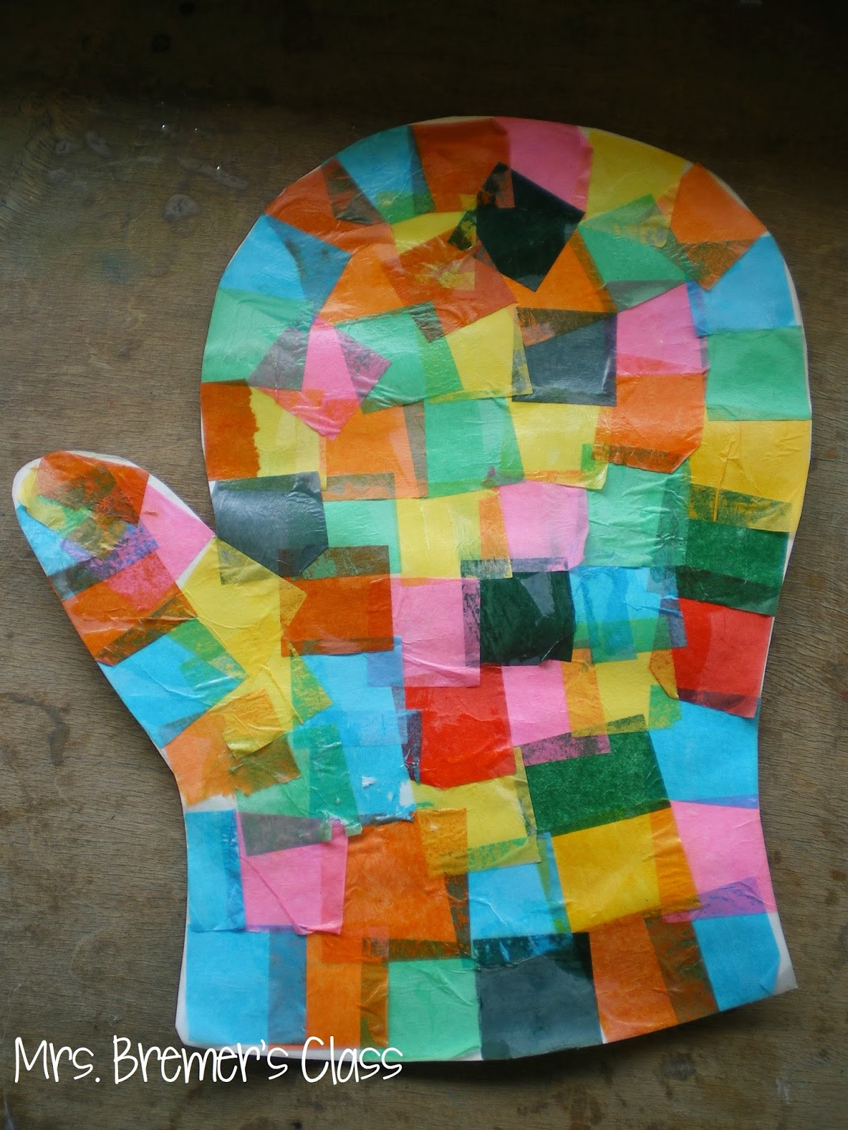 Preschool Art Project  Mrs Bremer s Class The Hat and The Mitten Art Lesson