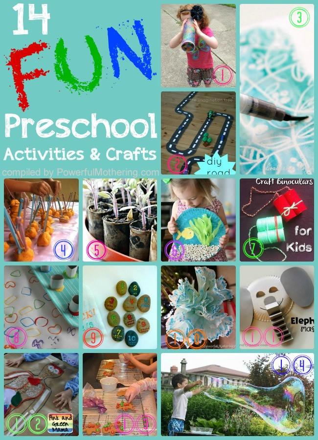 Preschool Craft Activities  14 Fun Preschool Activities and Crafts