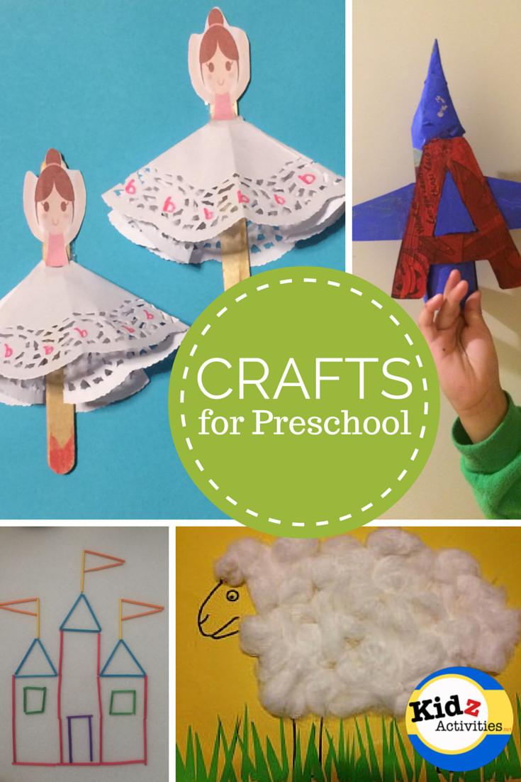 Preschool Craft Activities  CRAFTS for Preschool Kidz Activities
