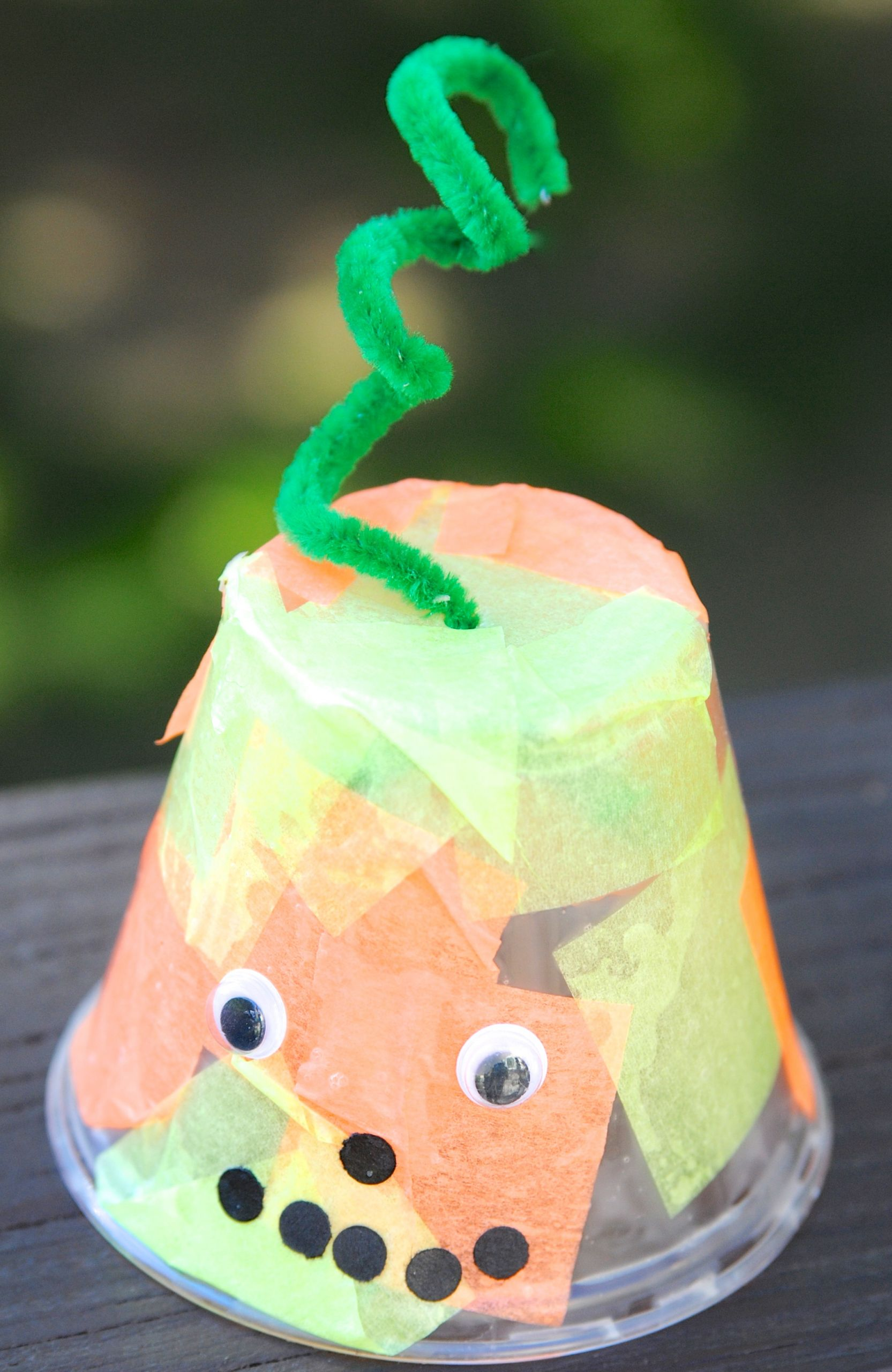 Preschool Craft Activities  Quick Halloween Craft Ideas for Kids