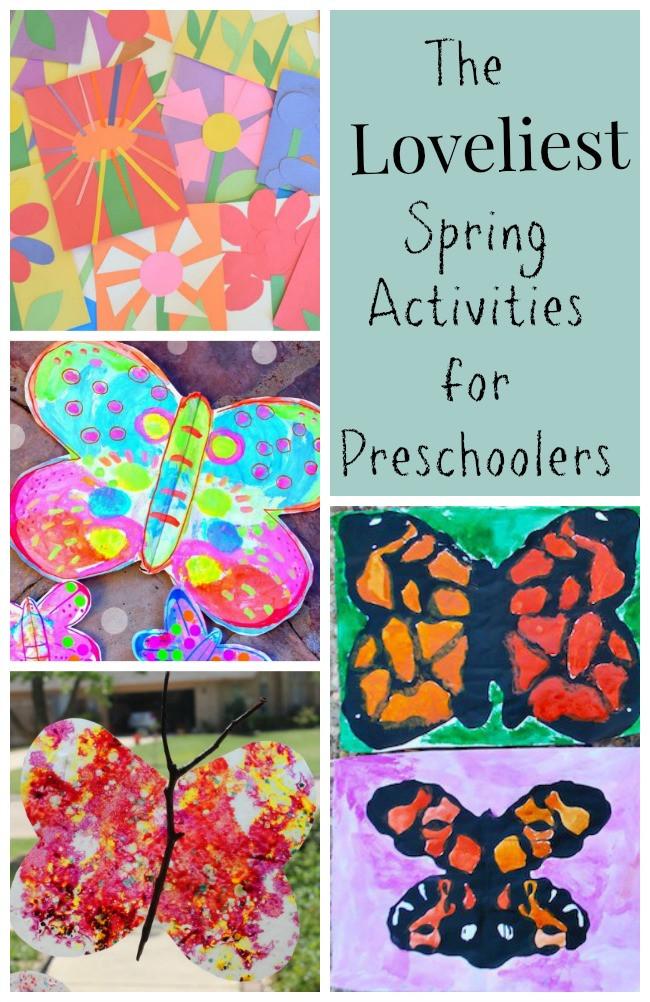 Preschool Craft Activities  The Loveliest Spring Activities for Preschoolers How