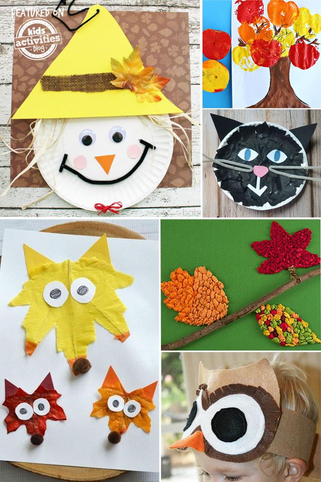 Preschool Craft Activities  24 Fantastic Fall Crafts Your Preschooler Will Love