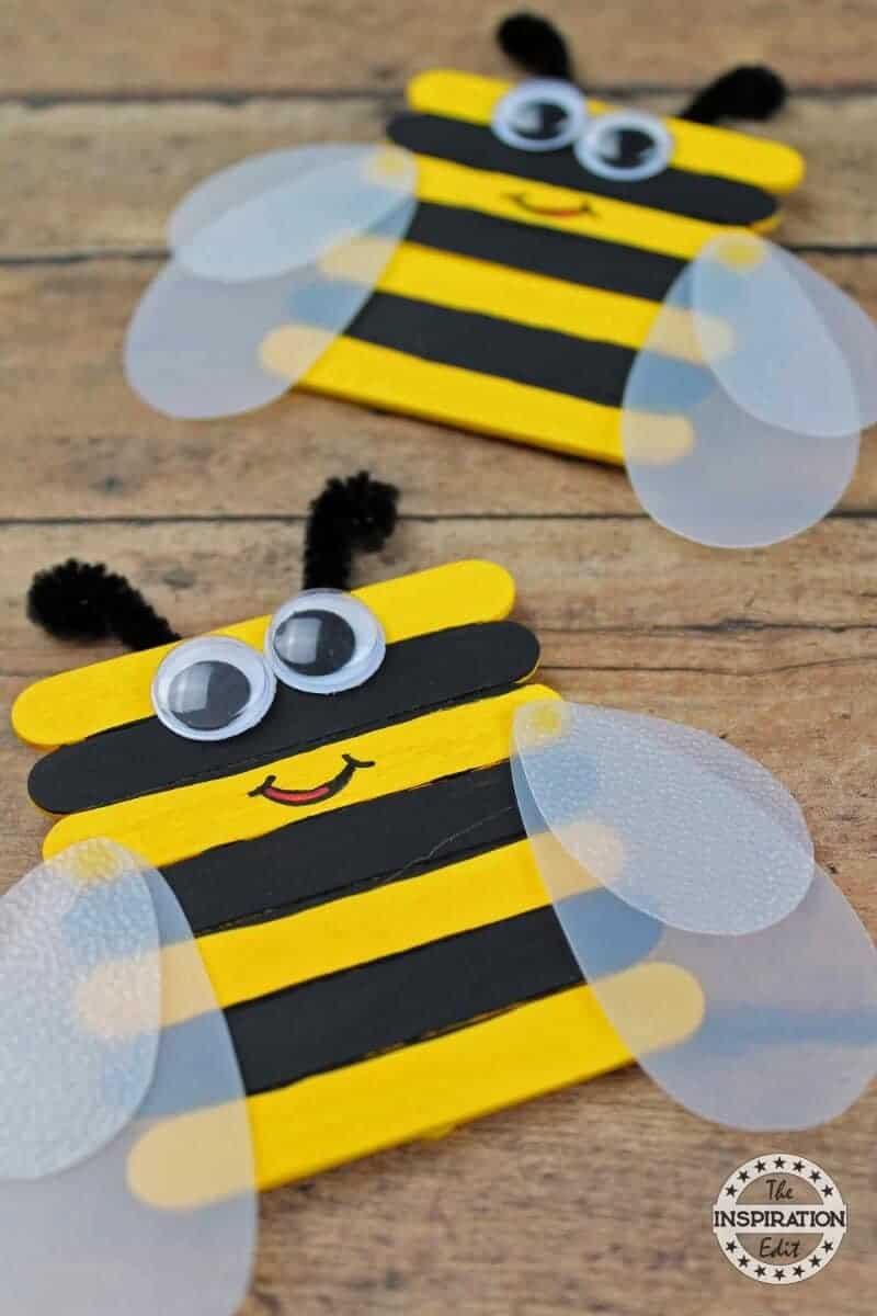 Preschool Craft Activities  51 Amazing Preschool Bug Crafts · The Inspiration Edit