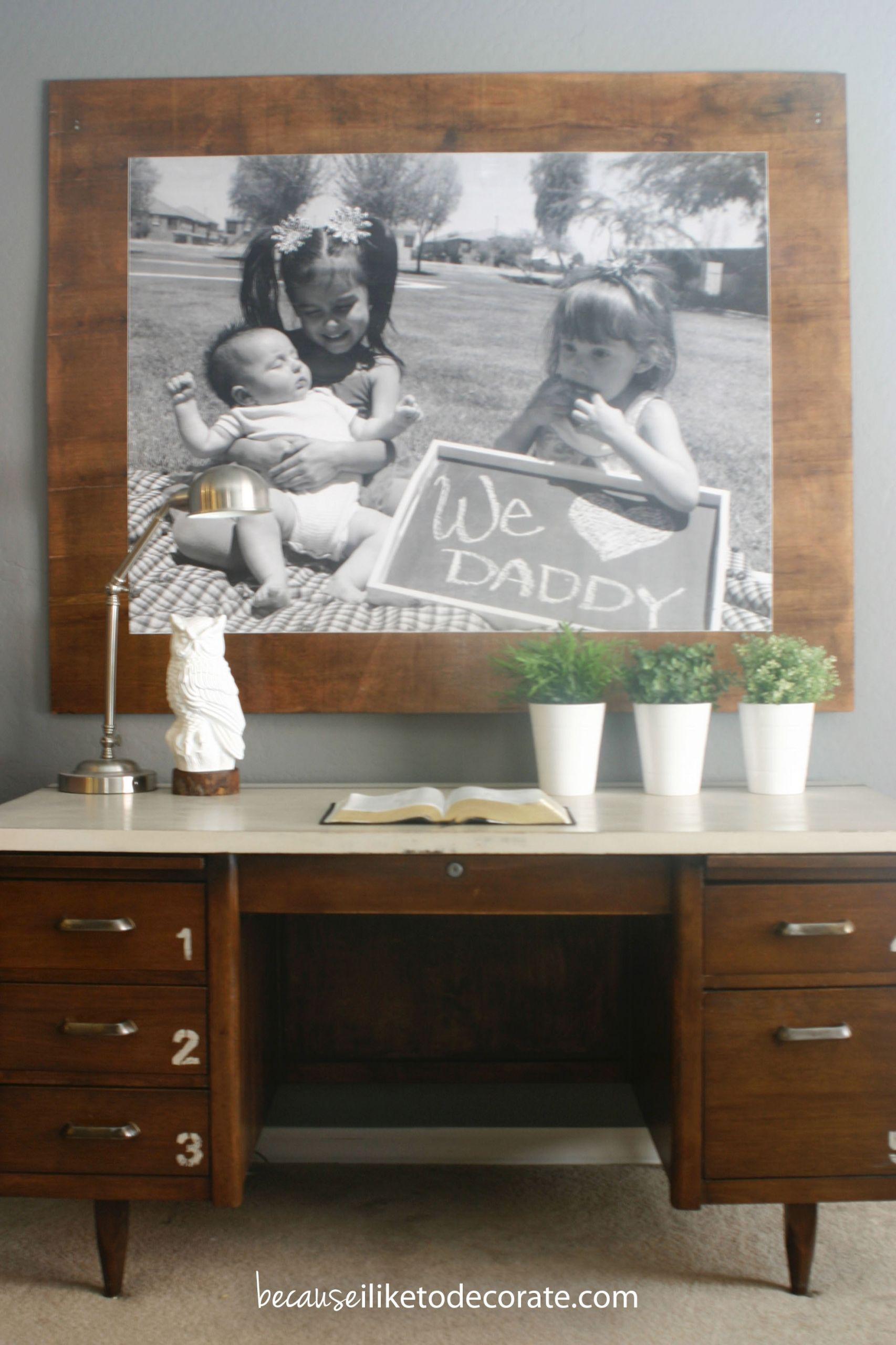 Prints On Wood DIY  Remodelaholic