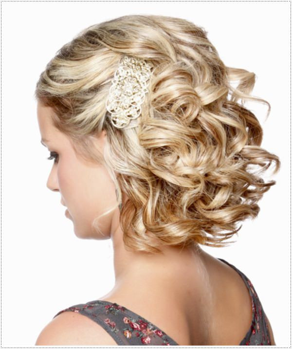 Prom Short Hairstyles  30 Amazing Prom Hairstyles & Ideas