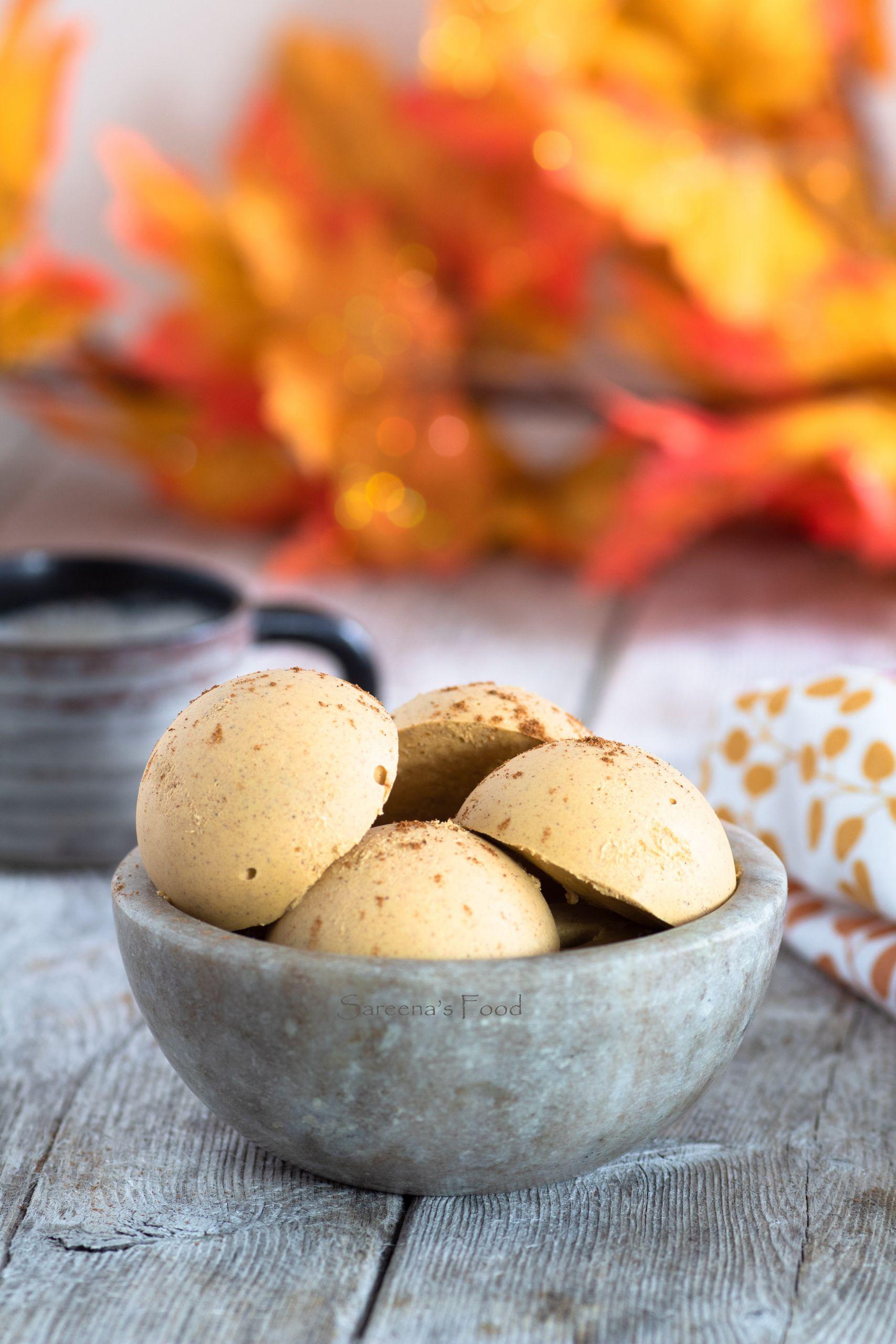 Pumpkin Pie Fat Bombs  Pumpkin Pie Fat Bombs Vegan & Keto – Sareena s Food