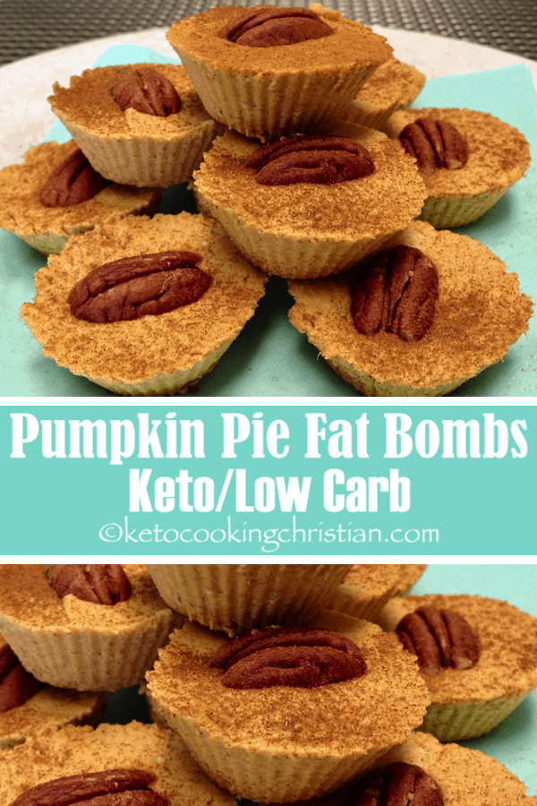 Pumpkin Pie Fat Bombs  Pumpkin Pie Fat Bombs Keto and Low Carb Keto Cooking