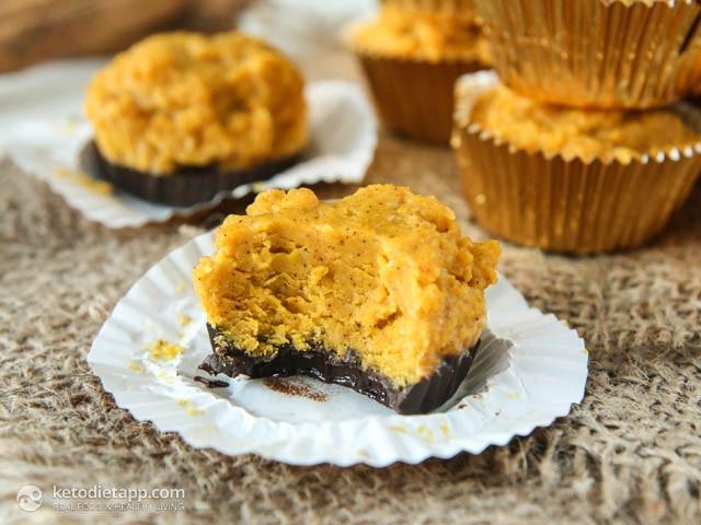 Pumpkin Pie Fat Bombs  Pumpkin Pie Chocolate Fat Bombs