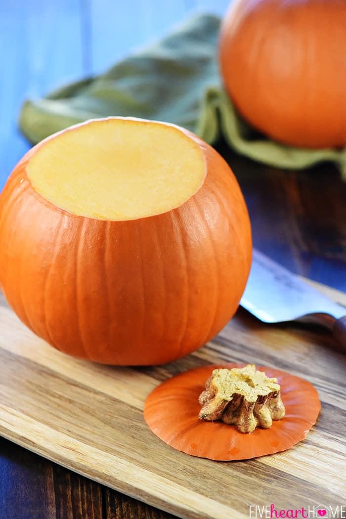 Pumpkin Puree Recipes Healthy  EASY Homemade Pumpkin Puree • FIVEheartHOME