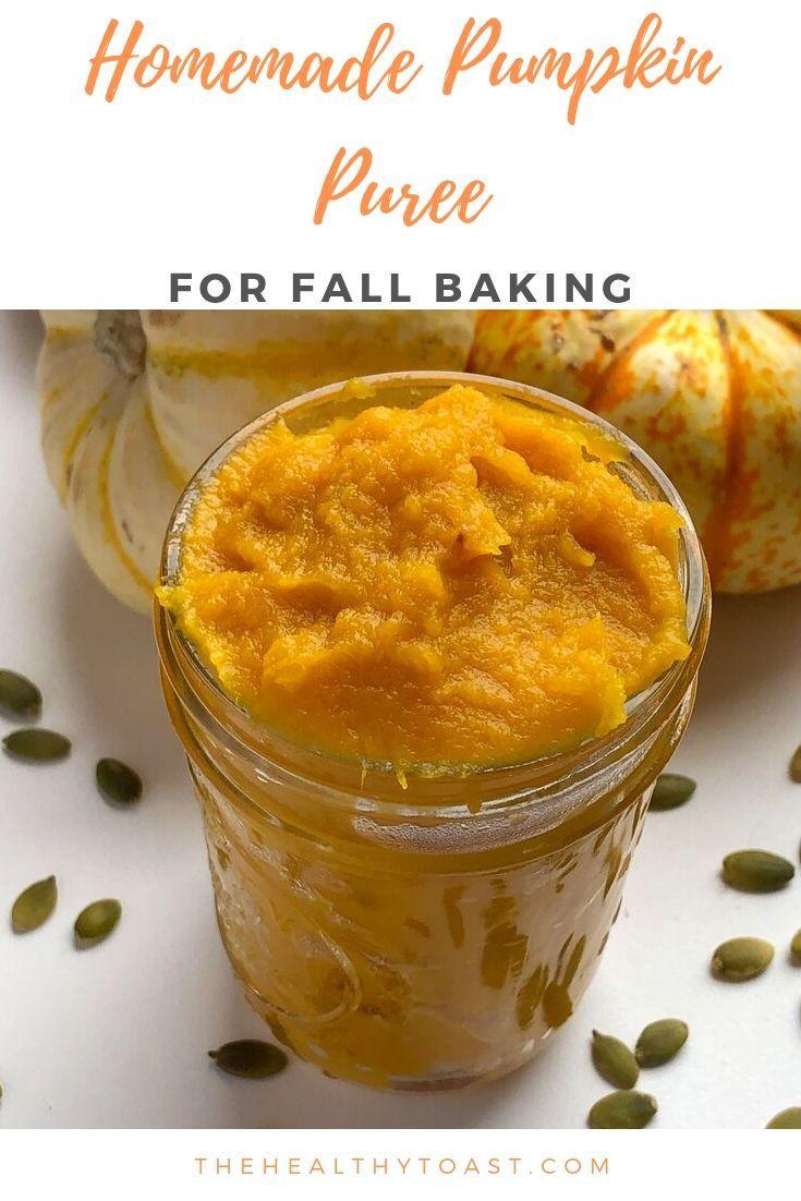 Pumpkin Puree Recipes Healthy  Homemade Pumpkin Puree Recipe