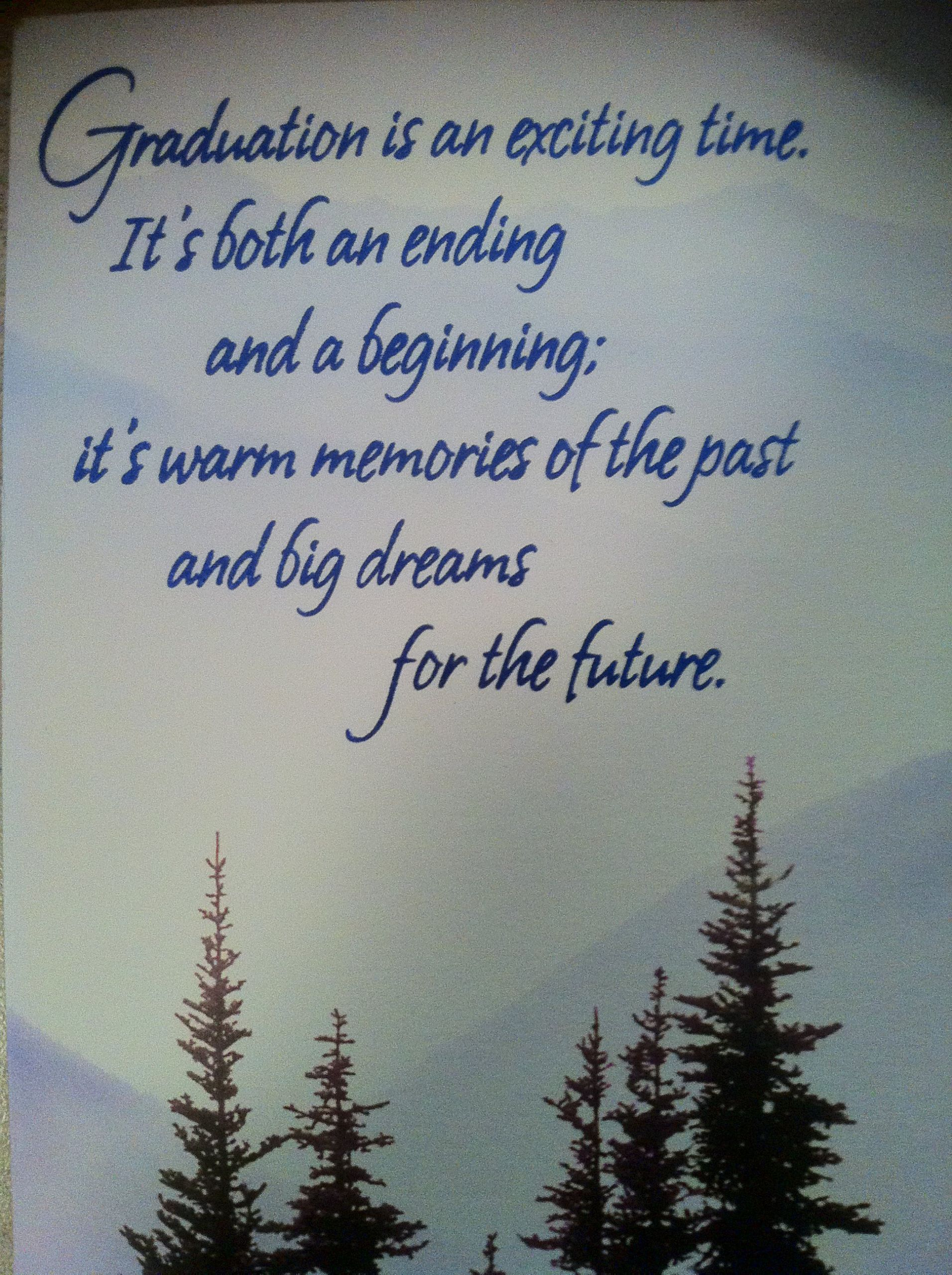 Quote About Graduation From High School  High School Graduation Cards Quotes QuotesGram