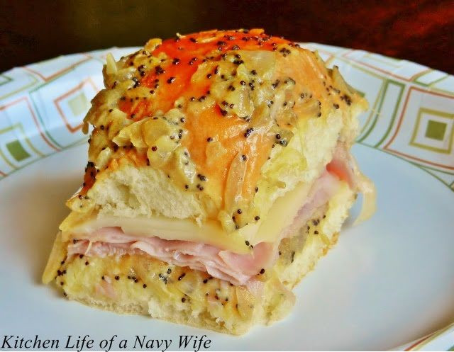 Recipe For Ham Sandwiches On Hawaiian Rolls  17 Best images about recipes king hawaiian rolls on