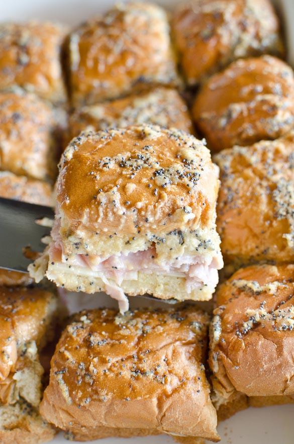 Recipe For Ham Sandwiches On Hawaiian Rolls  Baked Hawaiian Roll Ham and Cheese Sliders