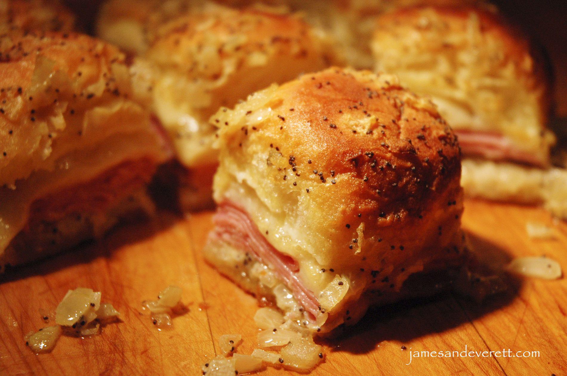 Recipe For Ham Sandwiches On Hawaiian Rolls  Kings Hawaiian Ham & Swiss Rolls Recipe