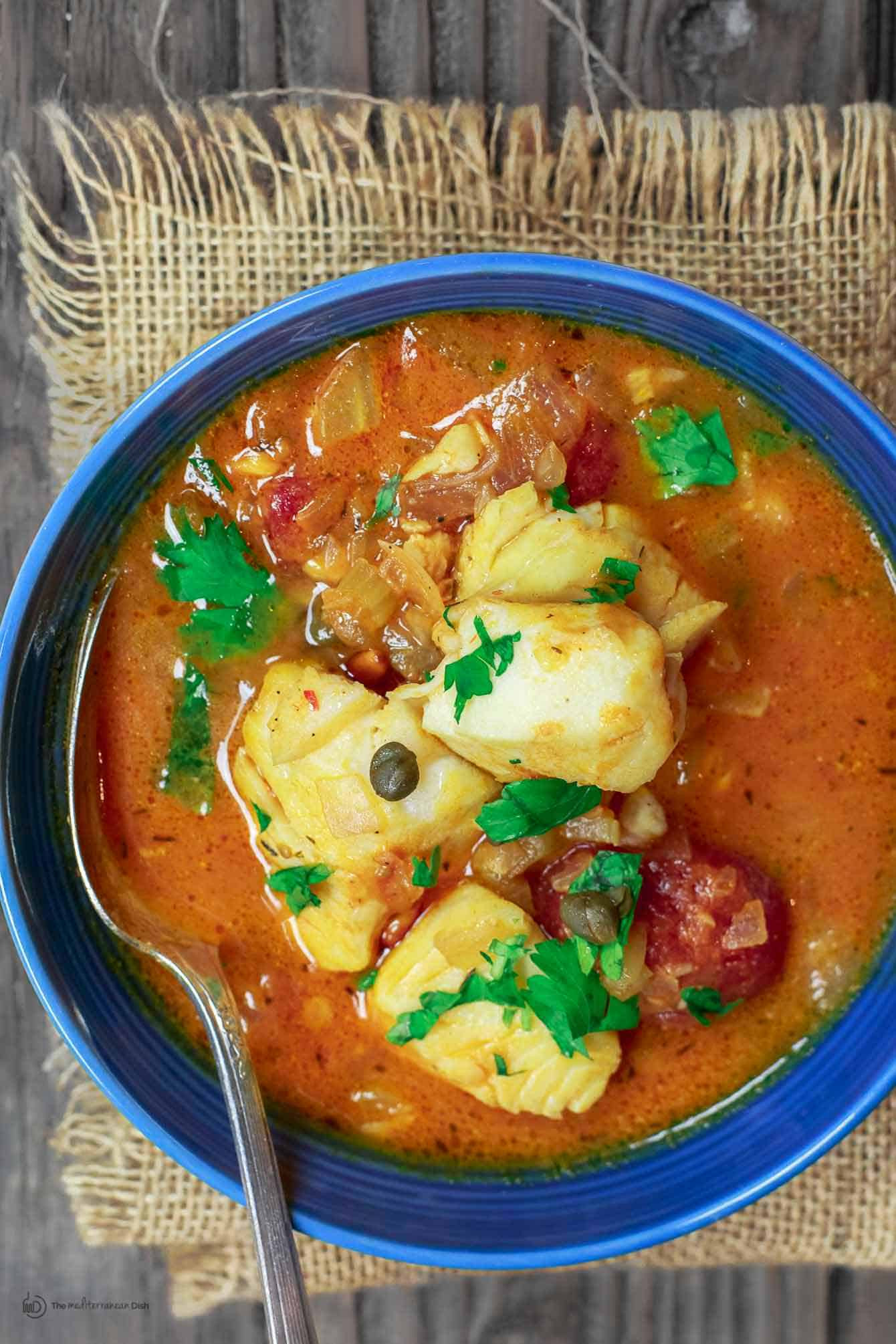 Recipes For Fish Stew  Sicilian Style Fish Stew Recipe