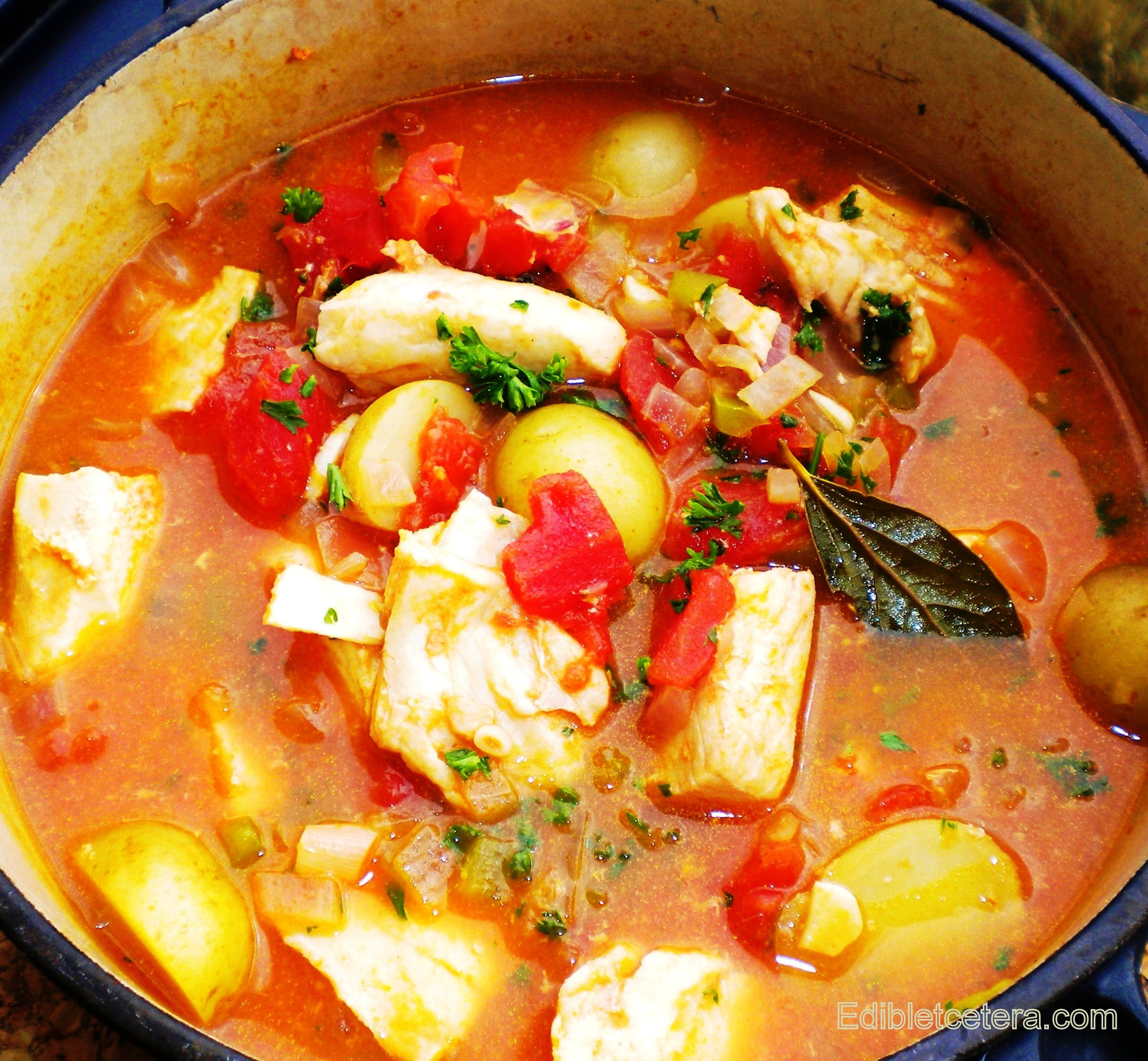 Recipes For Fish Stew  Recipe Spicy Fish Stew with Sherry & Baby Potatoes
