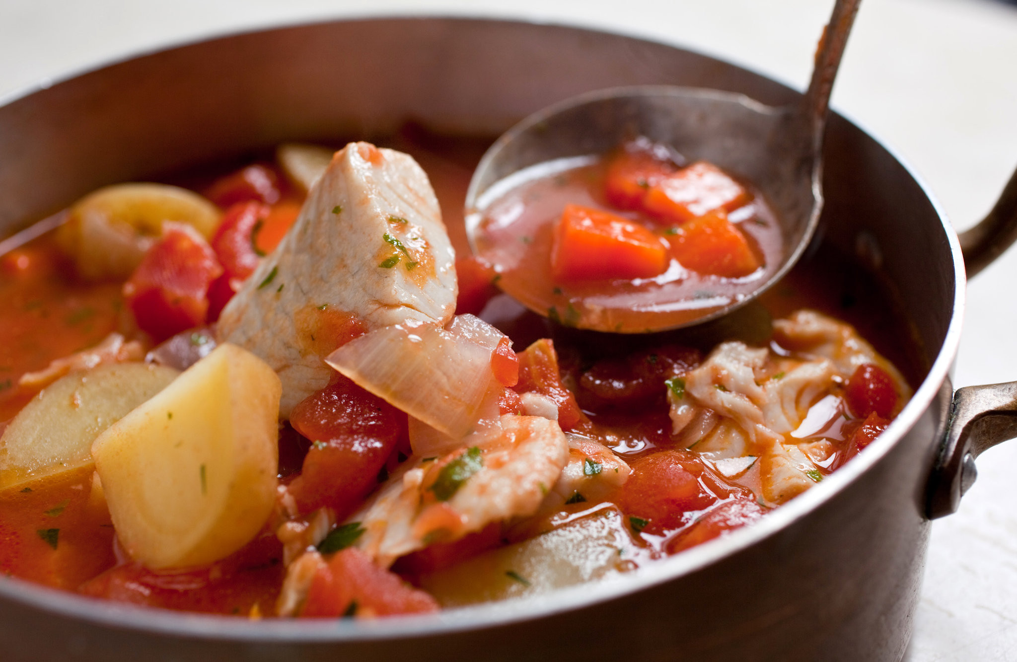 Recipes For Fish Stew  Easy Fish Stew With Mediterranean Flavors Recipe NYT Cooking