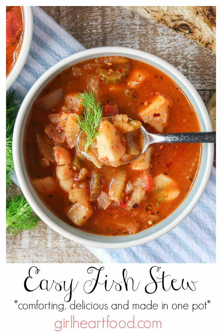 Recipes For Fish Stew  Easy Fish Stew Recipe with tomato and fennel Girl