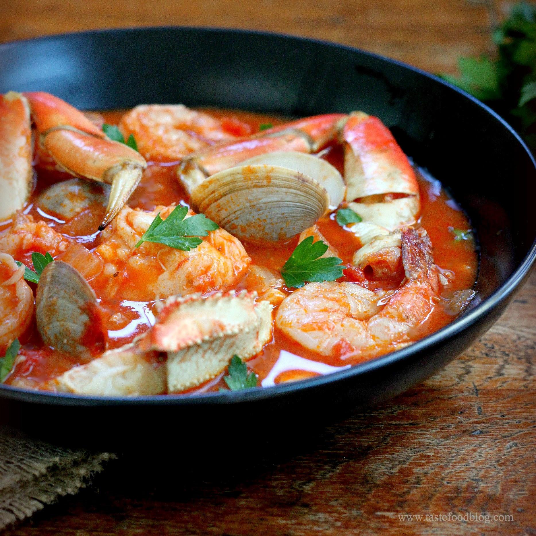 Recipes For Fish Stew  cioppino fish stew tastefood – TasteFood