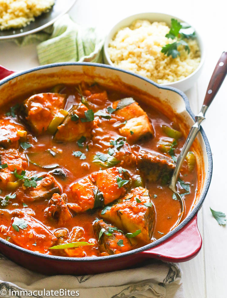 Recipes For Fish Stew  Fish Stew Immaculate Bites