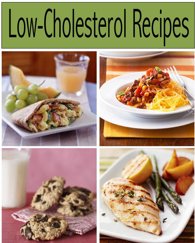 Recipes For Low Cholesterol Diet  102 best images about Low Cholesterol Recipes on Pinterest