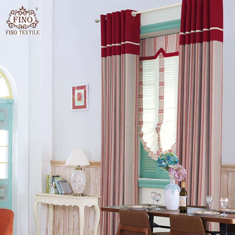 Red Curtains For Living Room  25 Wonderful Red Curtains for Living Room Home Family