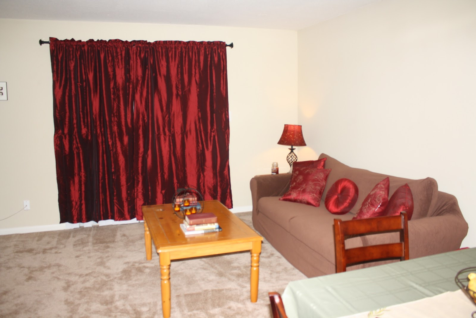 Red Curtains For Living Room  Inspiring Red Curtains In Living Room 19 Lentine