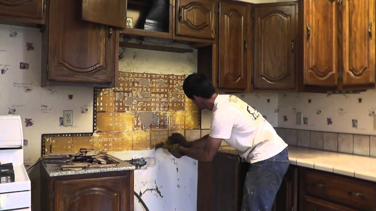 Replace Kitchen Countertops  How To Install Granite Countertops A Bud Part 1