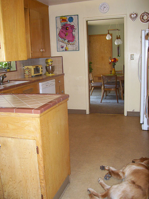 Replace Kitchen Countertops  Should Karen replace her original ceramic tile kitchen