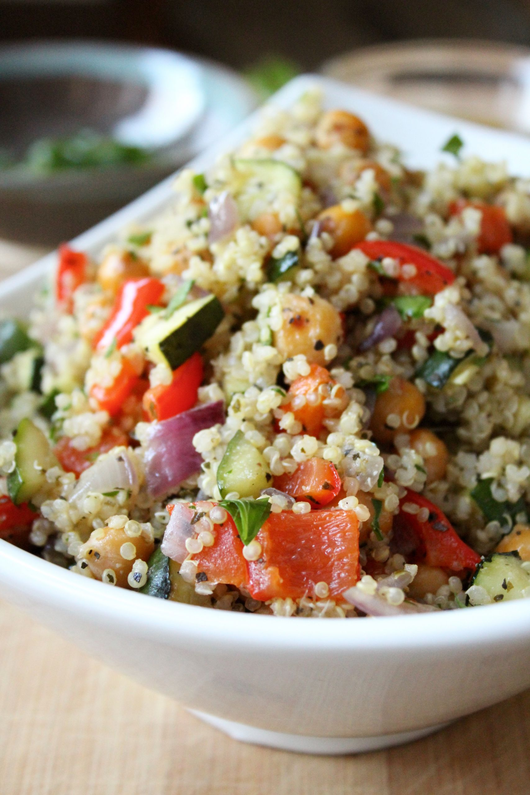 Roasted Vegetable Quinoa Salad  Roasted Ve able Quinoa Salad Insightful Bite