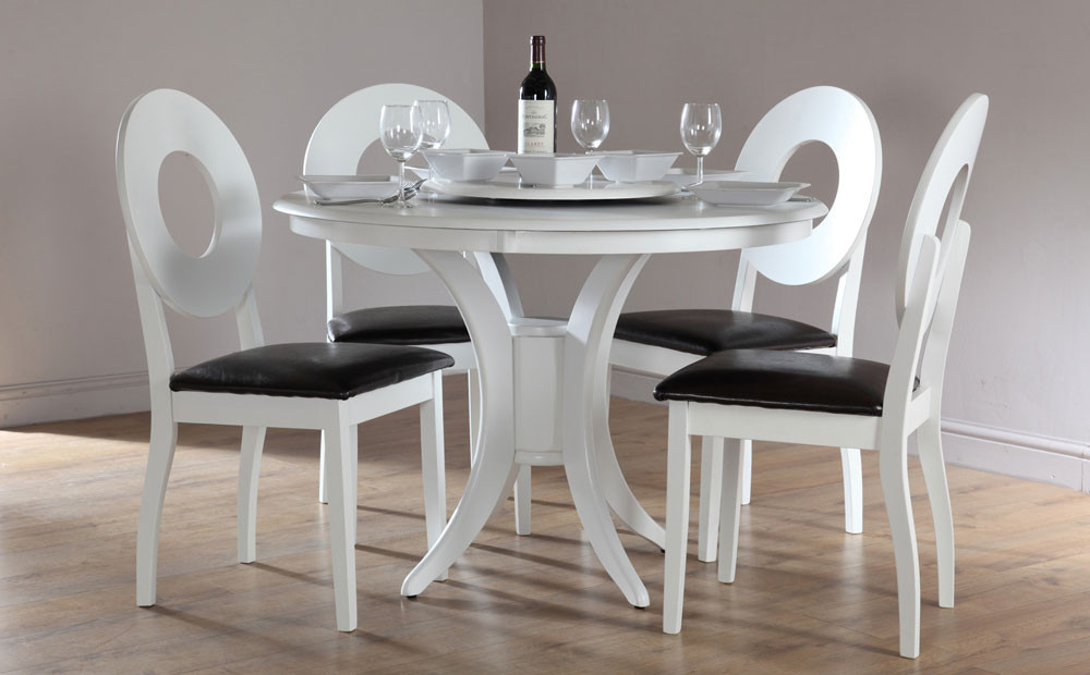 Round White Kitchen Table Sets  Round White Kitchen Table And Chairs stevieawardsjapan