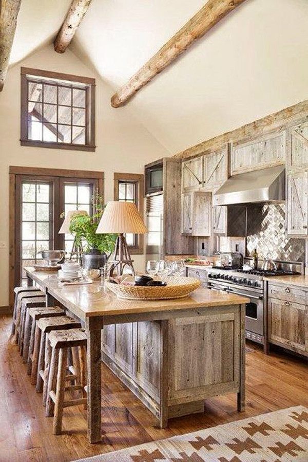 Rustic Kitchen Accessories  27 Vintage Kitchen Design With Rustic Styles