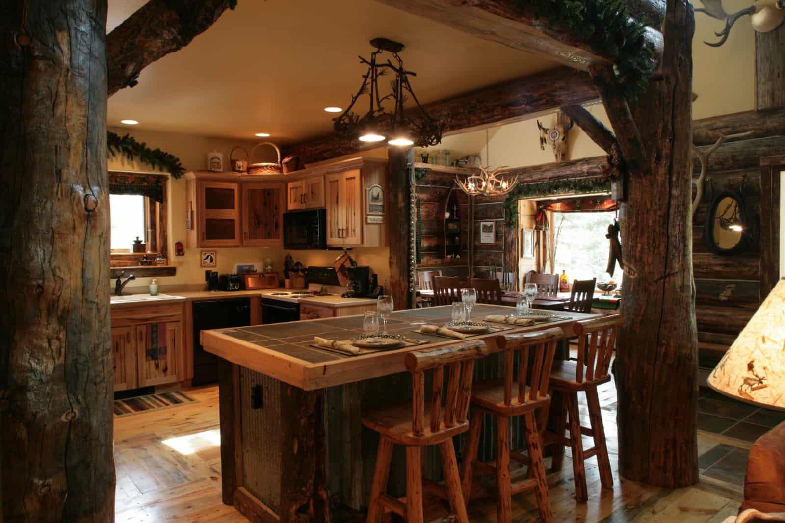 Rustic Kitchen Accessories  Interior design trends 2017 Rustic kitchen decor – HOUSE