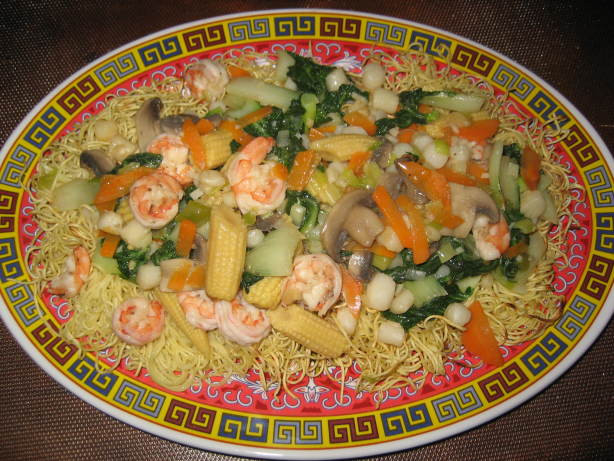 Seafood Pan Fried Noodles  Seafood Pan Fried Noodles Recipe Food