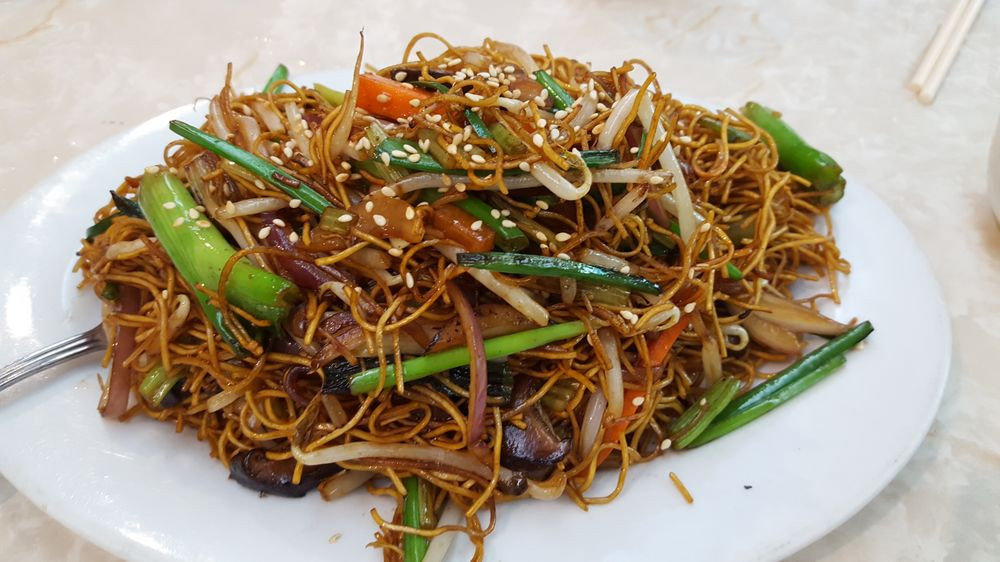 Seafood Pan Fried Noodles  Cantonese Soy Sauce Pan Fried Noodles Yelp